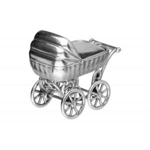 Srebrny wózek - pamiątka