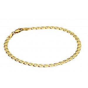 Złota bransoletka - gucci