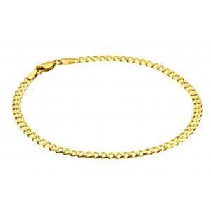 Złotas bransoletka - pancerka