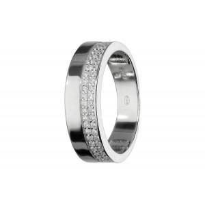 Srebrny pierścionek w typie...
