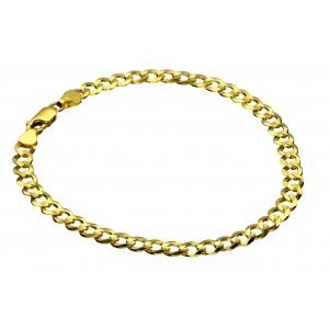 Złota bransoletka - pancerka