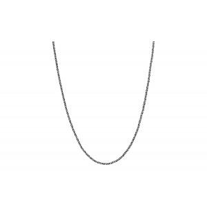 Srebrny łańcuszek ozdobny 75cm