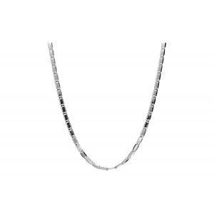 Srebrny łańcuszek - ozdobny...