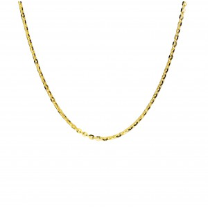 Złoty łańcuszek rollo - 50cm