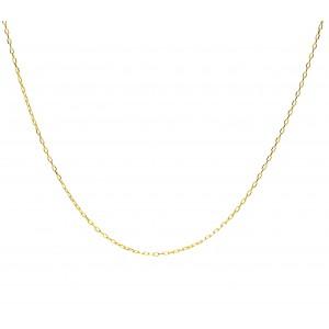 Złoty łańcuszek ankier - 38cm