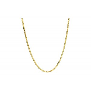 Złoty łańcuszek ozdobny - 50cm