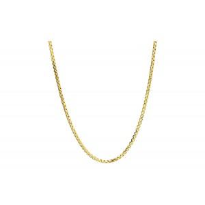 Złoty łańcuszek ozdobny - 55cm