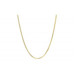 Złoty łańcuszek ozdobny - 42cm
