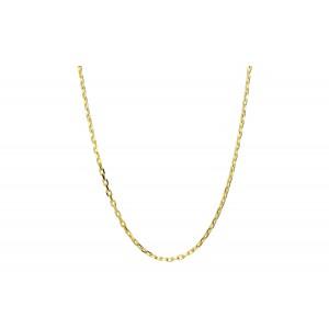 Złoty łańcuszek ankier - 50 cm