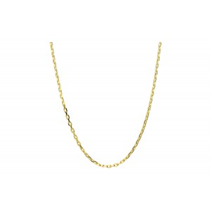 Złoty łańcuszek ankier - 45 cm