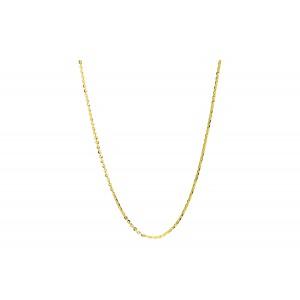 Złoty łańcuszek rollo - 45cm