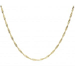 Złoty łańcuszek singapur -...