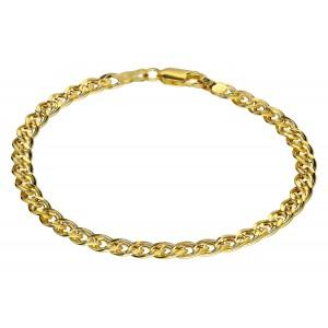 Złota bransoletka - mona...