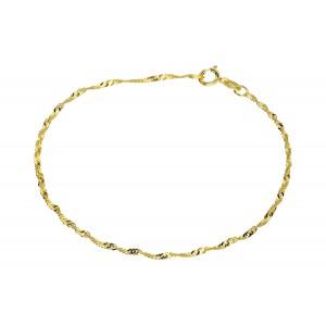 Złota bransoletka -...