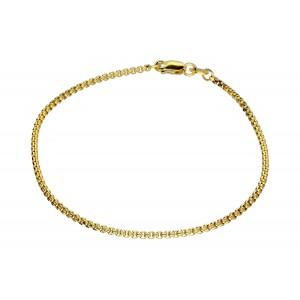 Złota bransoletka - ozdobna...