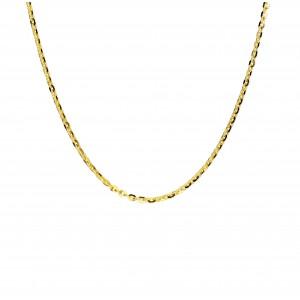 Złoty łańcuszek rollo - 40cm