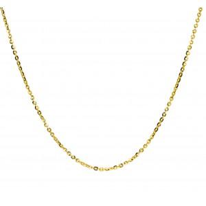Złoty łańcuszek rollo - 42cm