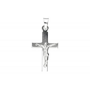 Srebrna zawieszka krzyżyk