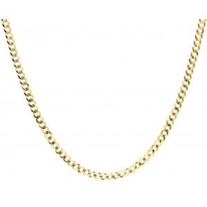 Złoty łańcuszek pancerka -...
