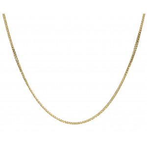 Złoty łańcuszek lisi ogon -...