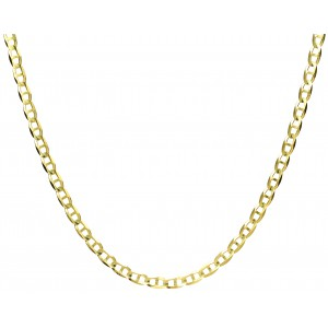 Złoty łańcuszek gucci - 50 cm