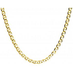 Złoty łańcuszek gucci - 55 cm