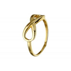 Złoty pierścionek-...