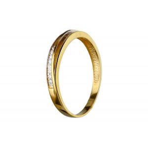 Złoty pierścionek typu...