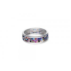 Srebrny pierścionek -...