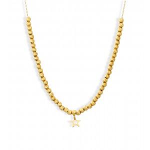 Złoty naszyjnik - gwiazdka
