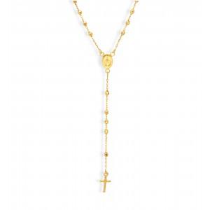 Złoty naszyjnik - rózaniec