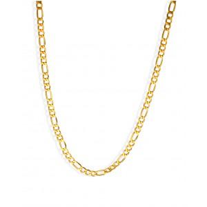 Złoty łańcuszek figaro - 50cm