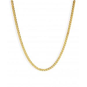 Złoty łańcuszek krab - 45 cm