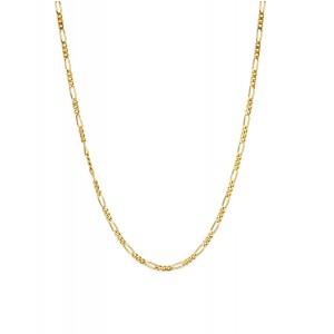 Złoty Łańcuszek Figaro 60cm