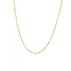 Złoty Łańcuszek Figaro 45cm