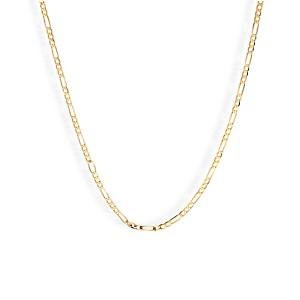 Złoty Łańcuszek Figaro 50cm